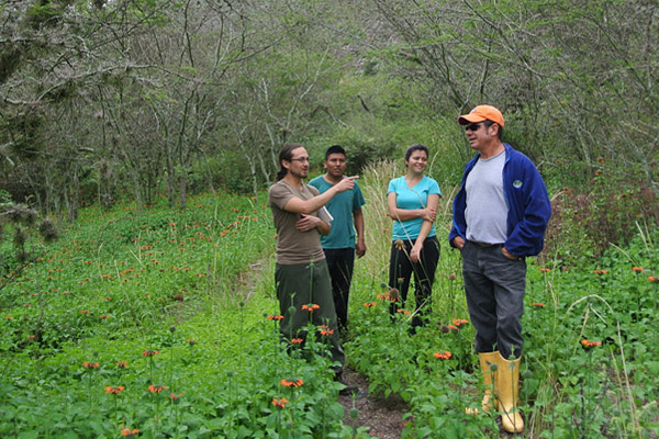 Visits Tours education equador agroforesty ecology
